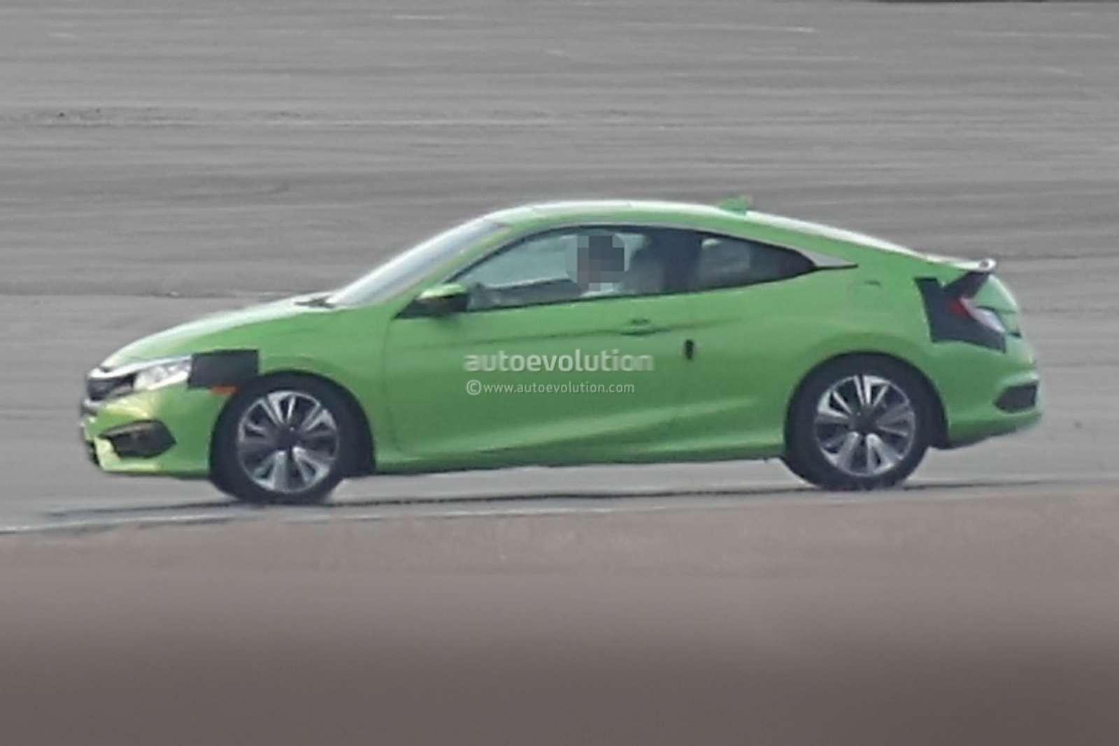 Honda Civic Coupe side profile
