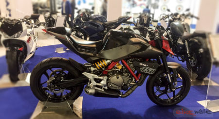 EICMA 2015: The Hyosung GD450 concept with 50 hp can be an upgraded alternative to the KTM 390