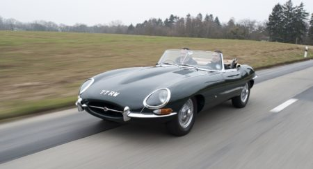 Jaguar E-Type voted as best British car ever (1)