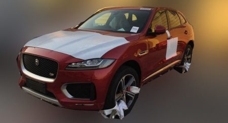 Jaguar F-Pace spied in the flesh; India bound next year
