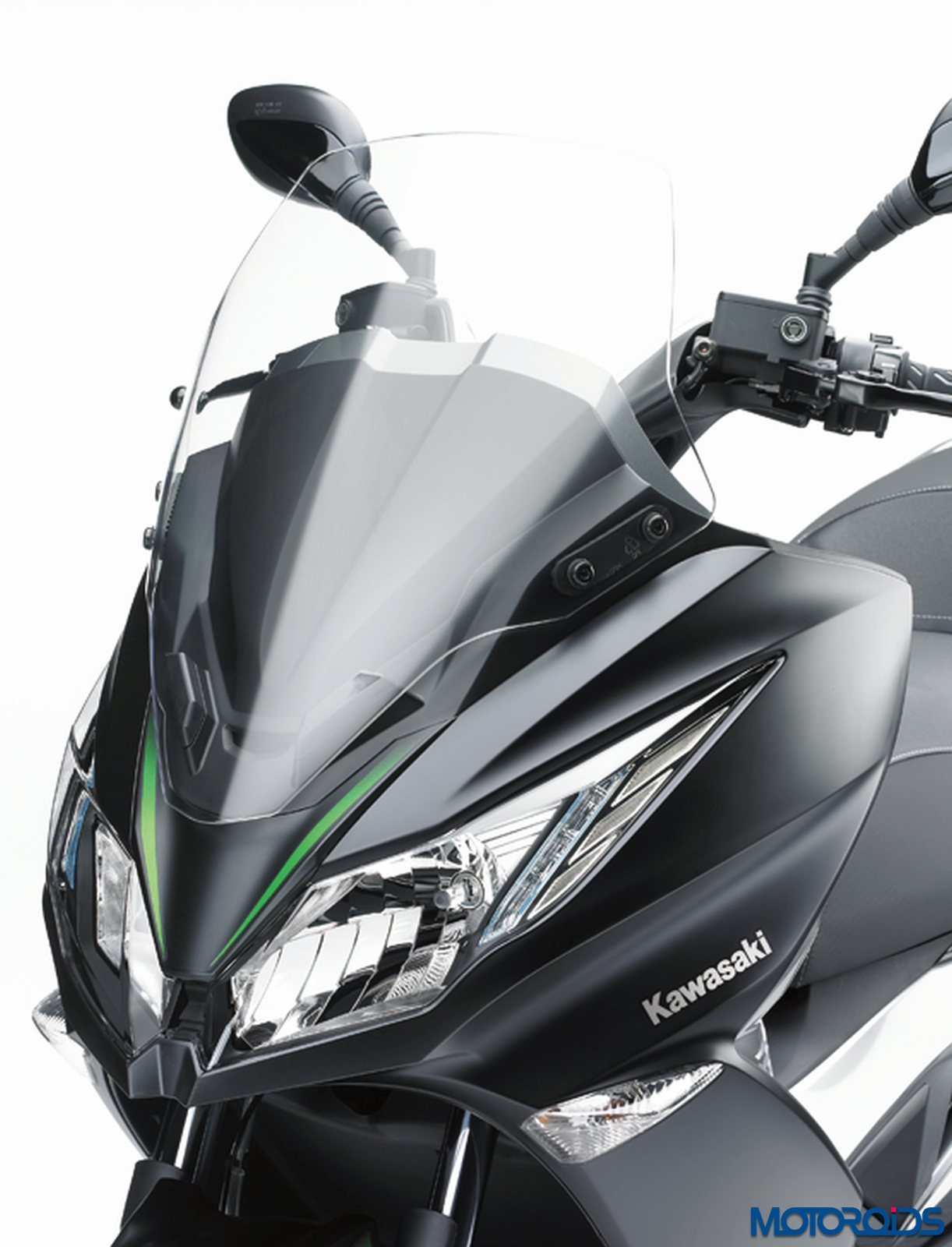 eicma 2015: kawasaki j125 unveiled, the first 125cc scooter from