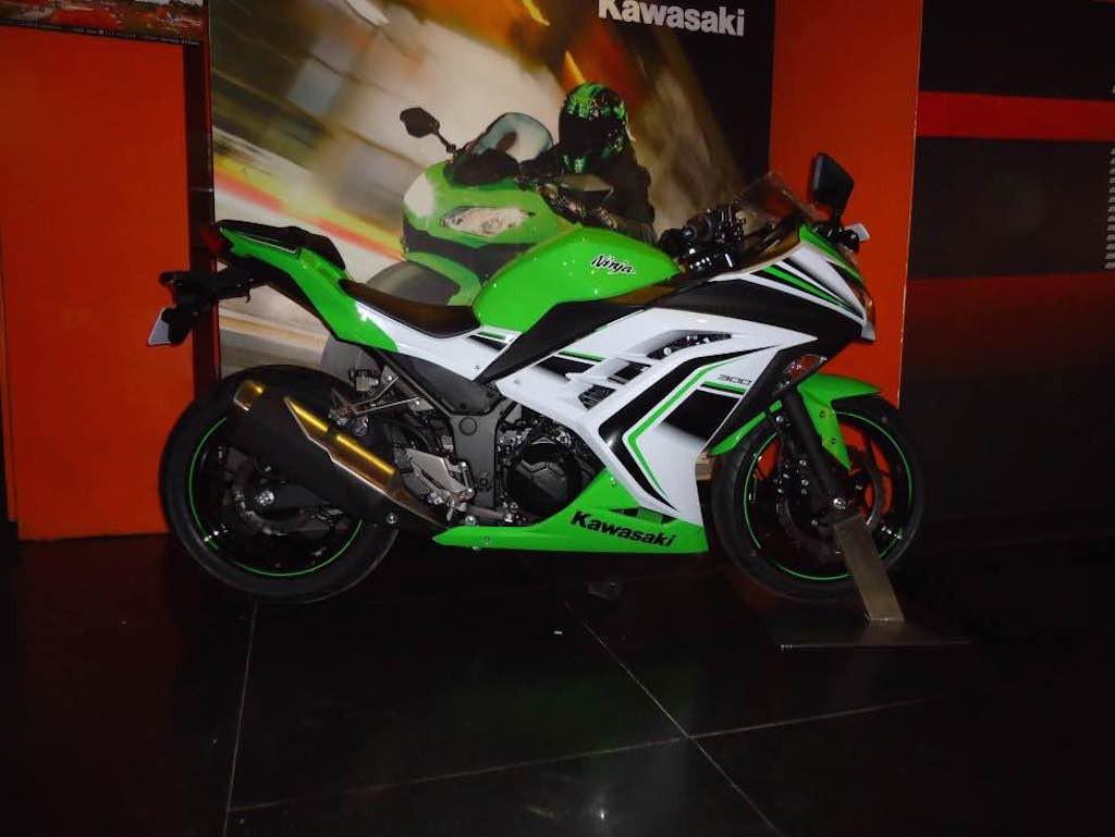 Kawasaki Ninja 300 Special Edition With 30th Anniversary Edition