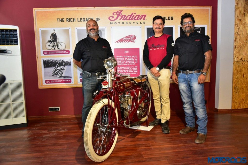 Left to Right- Mr. Ashish Khurana, , Managing Partner, West India Auto Pvt., Mr. Pankaj Dubey, Managing Director, Polaris India, Mr. Vikram V Shah, Managing Partner, West India Auto Pvt. Ltd.