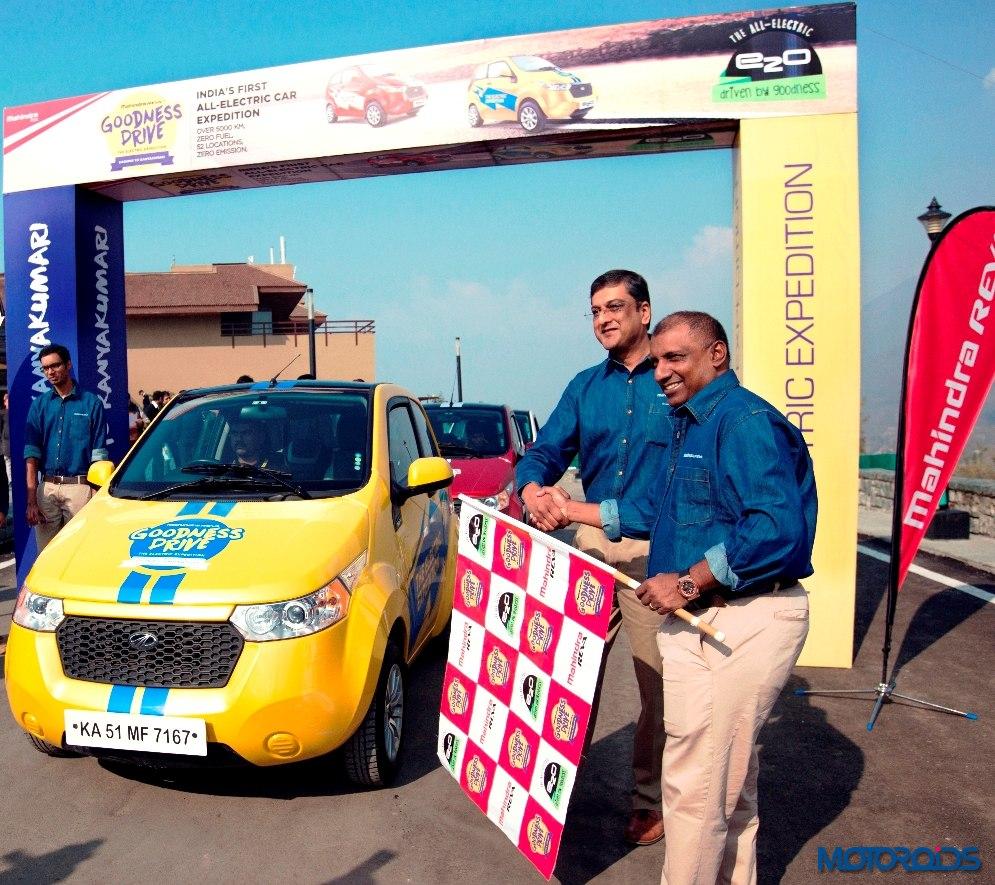 Mahindra Reva E2O Goodness drive (2)
