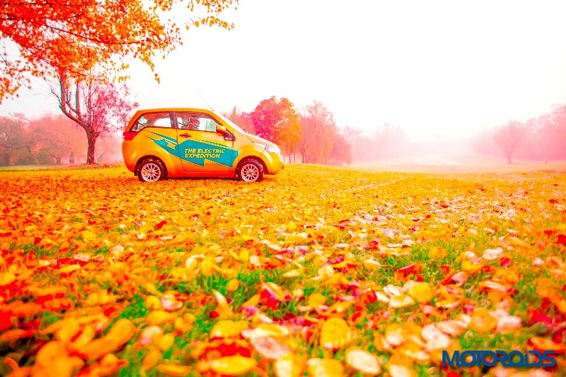 Mahindra Reva E2O Goodness drive (3)