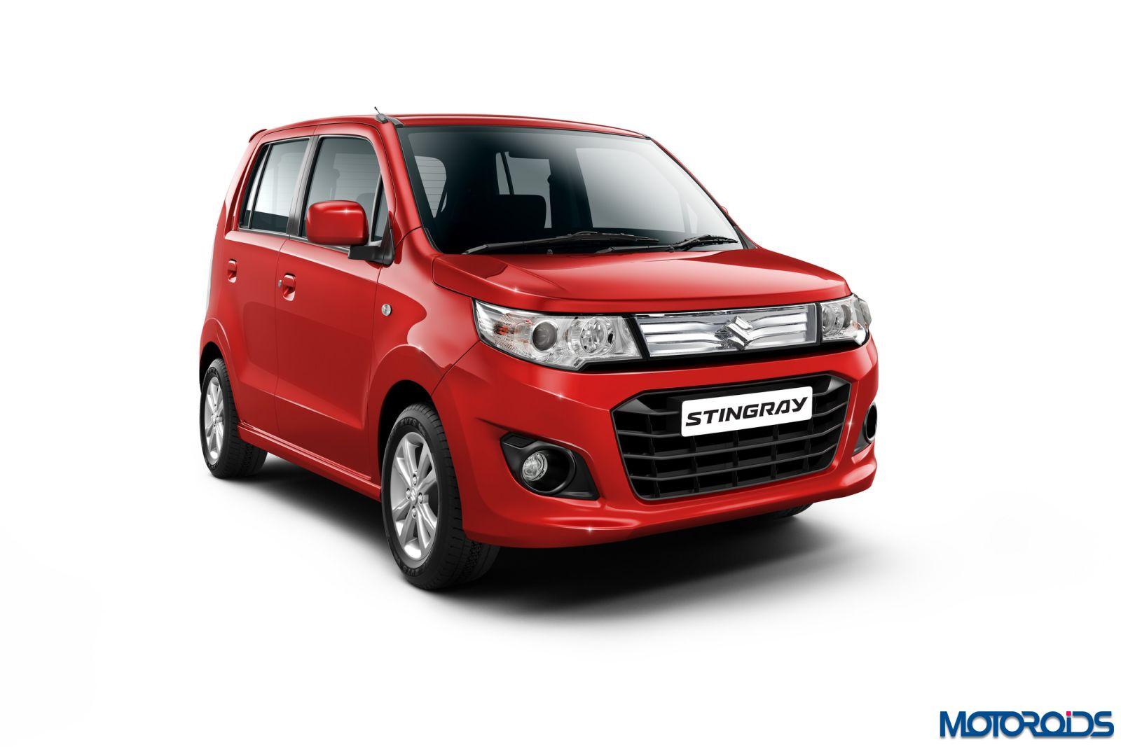 Maruti Suzuki WagonR and Stingray with Auto Gear Shift ...