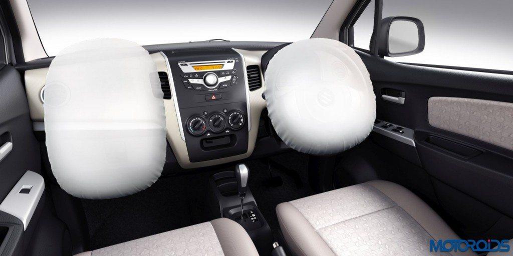 Maruti Suzuki WagonR and Stingray - Optional Airbags