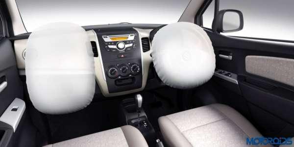 Maruti Suzuki WagonR and Stingray – Optional Airbags