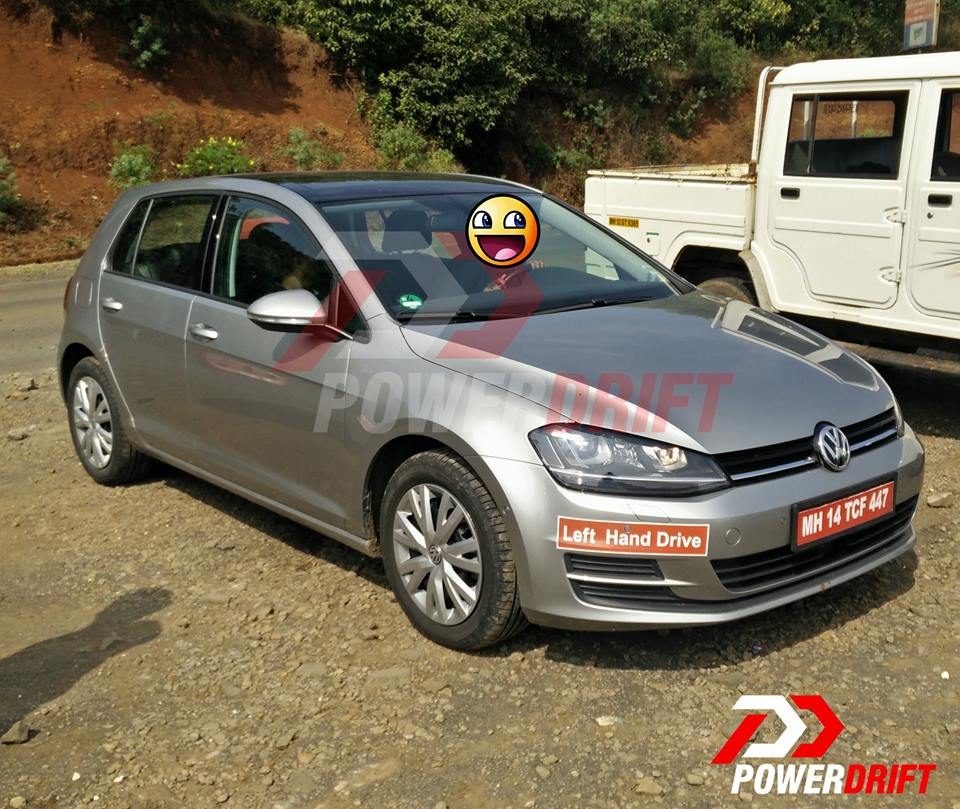 Mk7 VW Golf spotted in India (4)