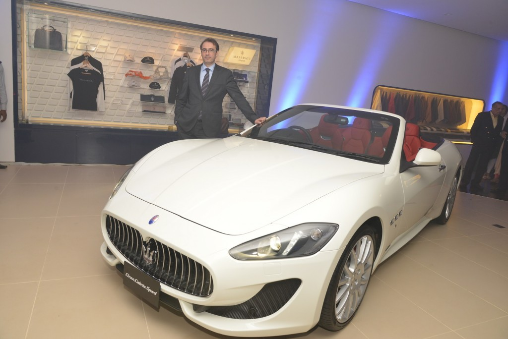 Mr Bojan Jankulovski, Head of Operations for Maserati India