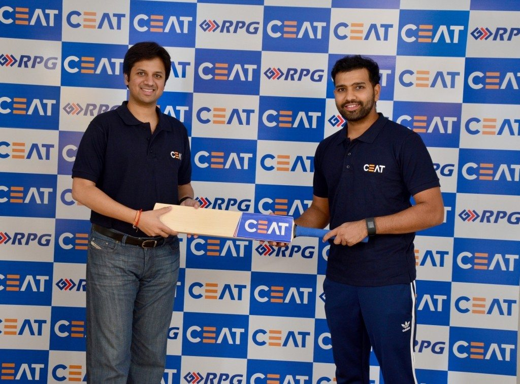 Mr. Anant Goenka, MD, CEAT and Rohit Sharma
