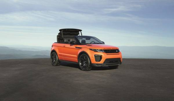 Range Rover Evoque Convertible (16)