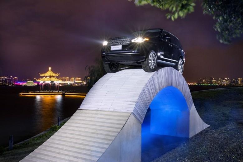 Range Rover Paper Bridge (5)
