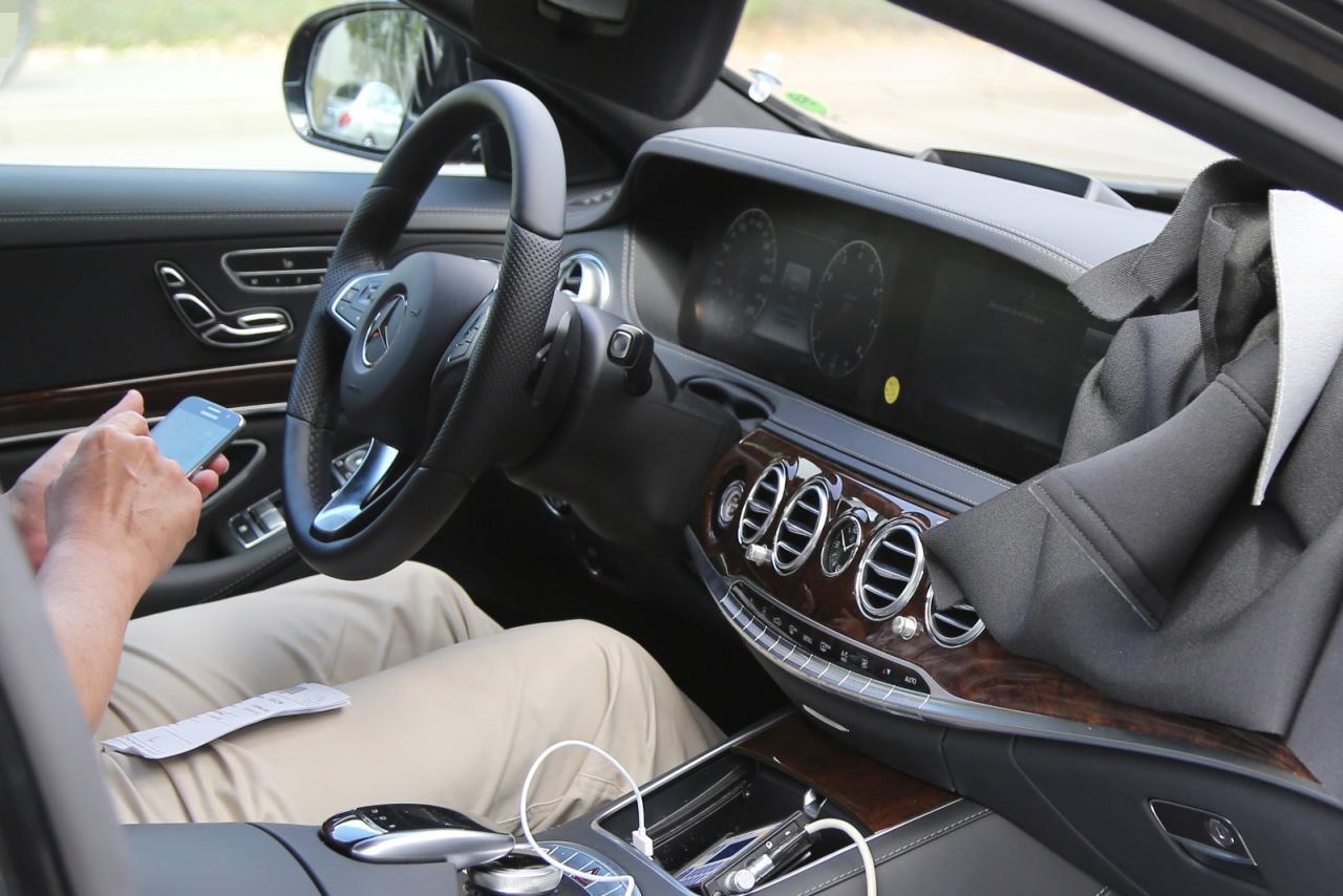 S class W222 interiors
