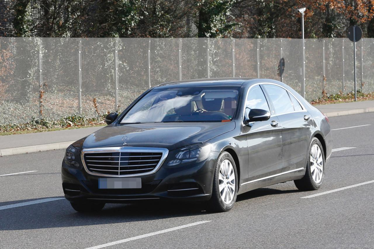 S class front fascia