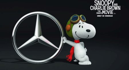 Snoopy Mercedes V-Class