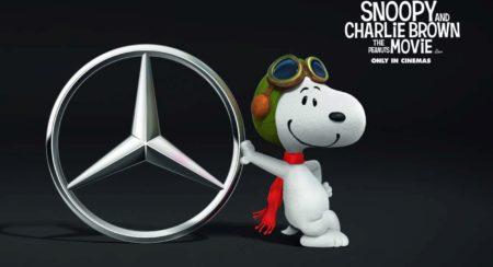 Snoopy Mercedes V-Class
