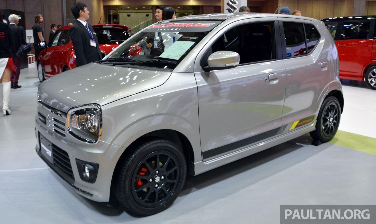 Description suzuki alto turbo rs concept front right 2015 tokyo auto -  Suzuki Alto Works 2015 Tokyo Motor Show 1