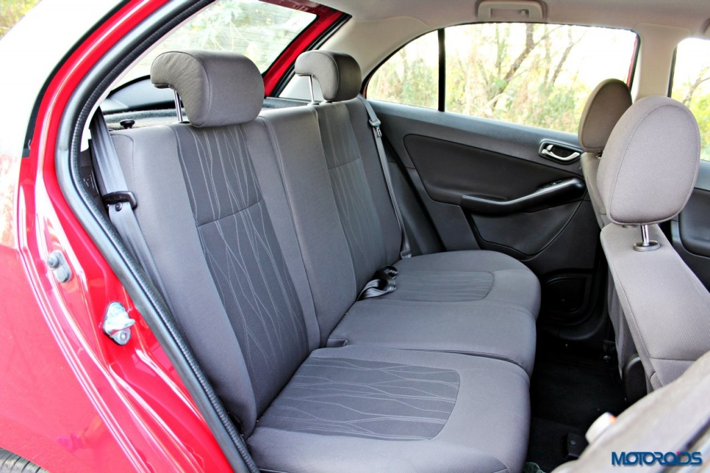 Tata Bolt front and rear seats (2)