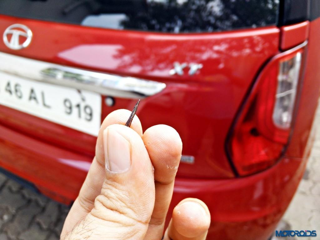 Tata Bolt puncture repair (1)