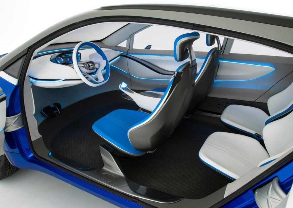 Tata Nexon concept interior
