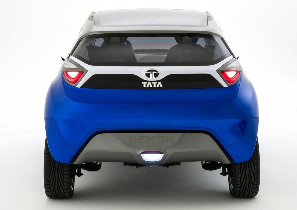 Tata Nexon concept rear