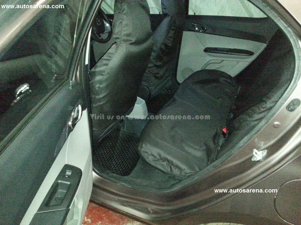 Tata Zica Rear Seat
