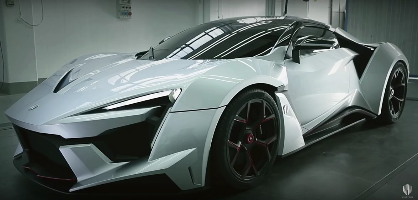 The W Motors Fenyr Supersport Makes Its Video Debut