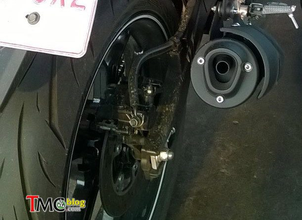 Yamaha MT-15 - Spied in Indonesia - 3