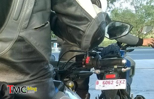 Yamaha MT-15 - Spied in Indonesia - 4