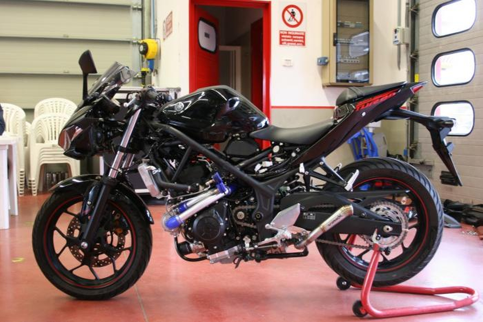 The Yamaha Yzf R3 Turbo Is A Modified Turbocharged Twin
