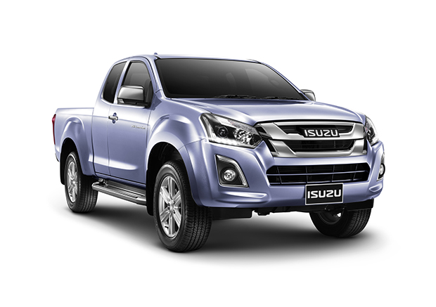 new isuzu d max facelift launched with 1 9 litre ddi diesel and revised styling motoroids. Black Bedroom Furniture Sets. Home Design Ideas