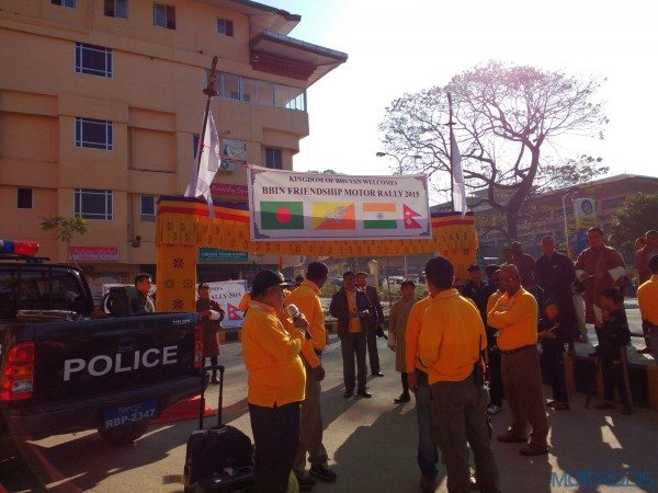 2015 BBIN Rally - From Phuentsholing to Thimphu and nightlife (1)