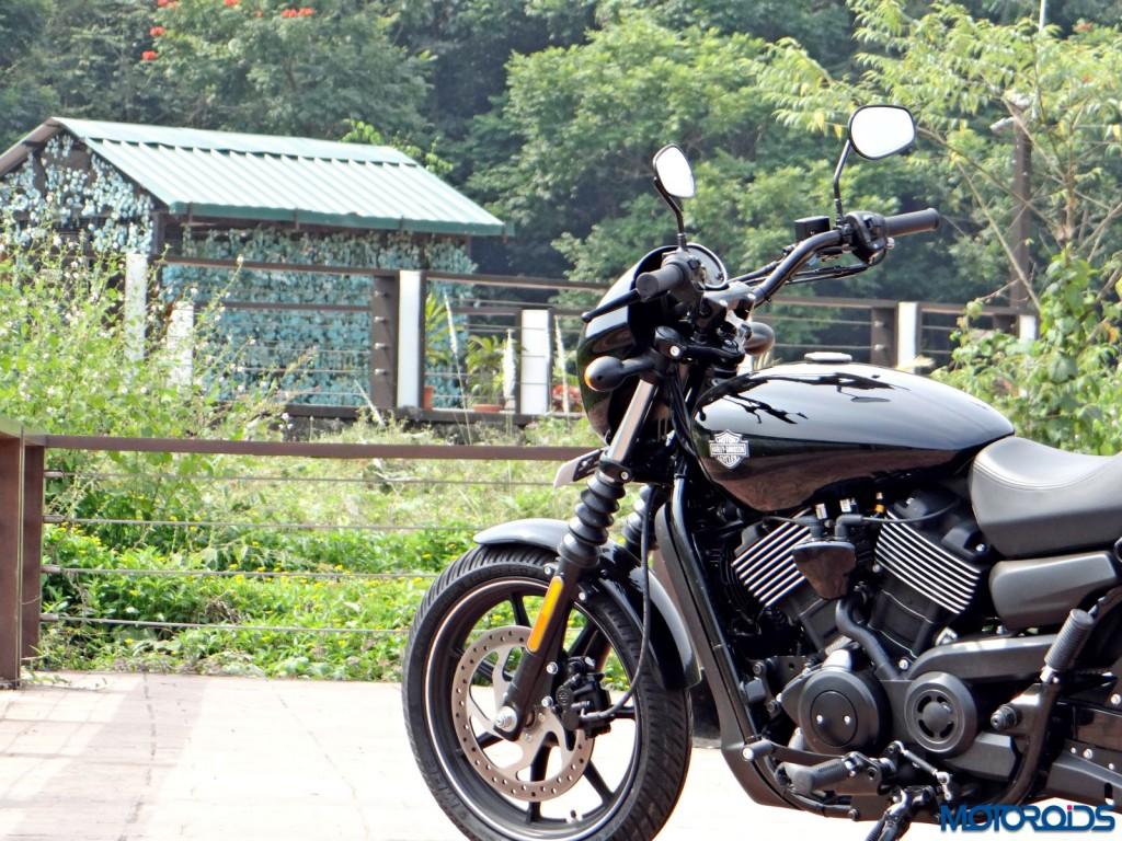 2016 Harley Davidson Street 750 Dark Custom Review (38)