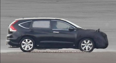 Honda CR-V with 7 seats in the works; to be more premium