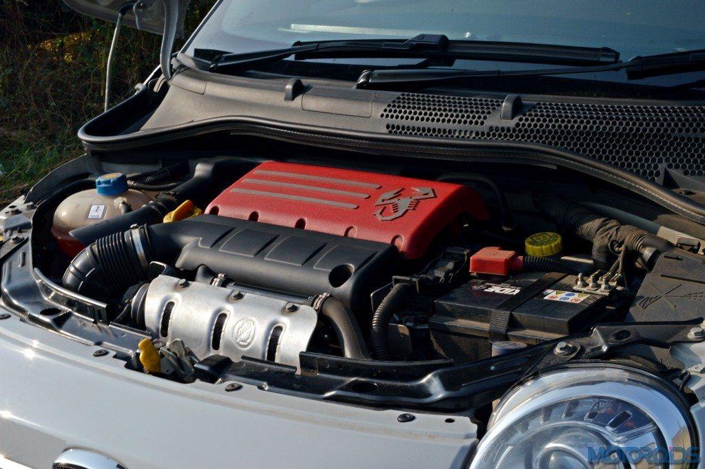 Abarth 595 Competizione Engine