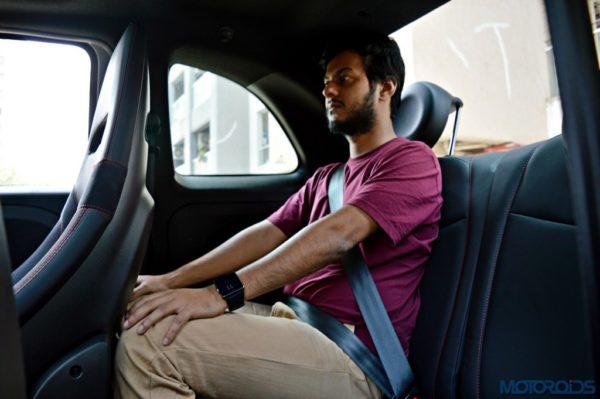 Abarth 595 Competizione Rear Seat Space (1)