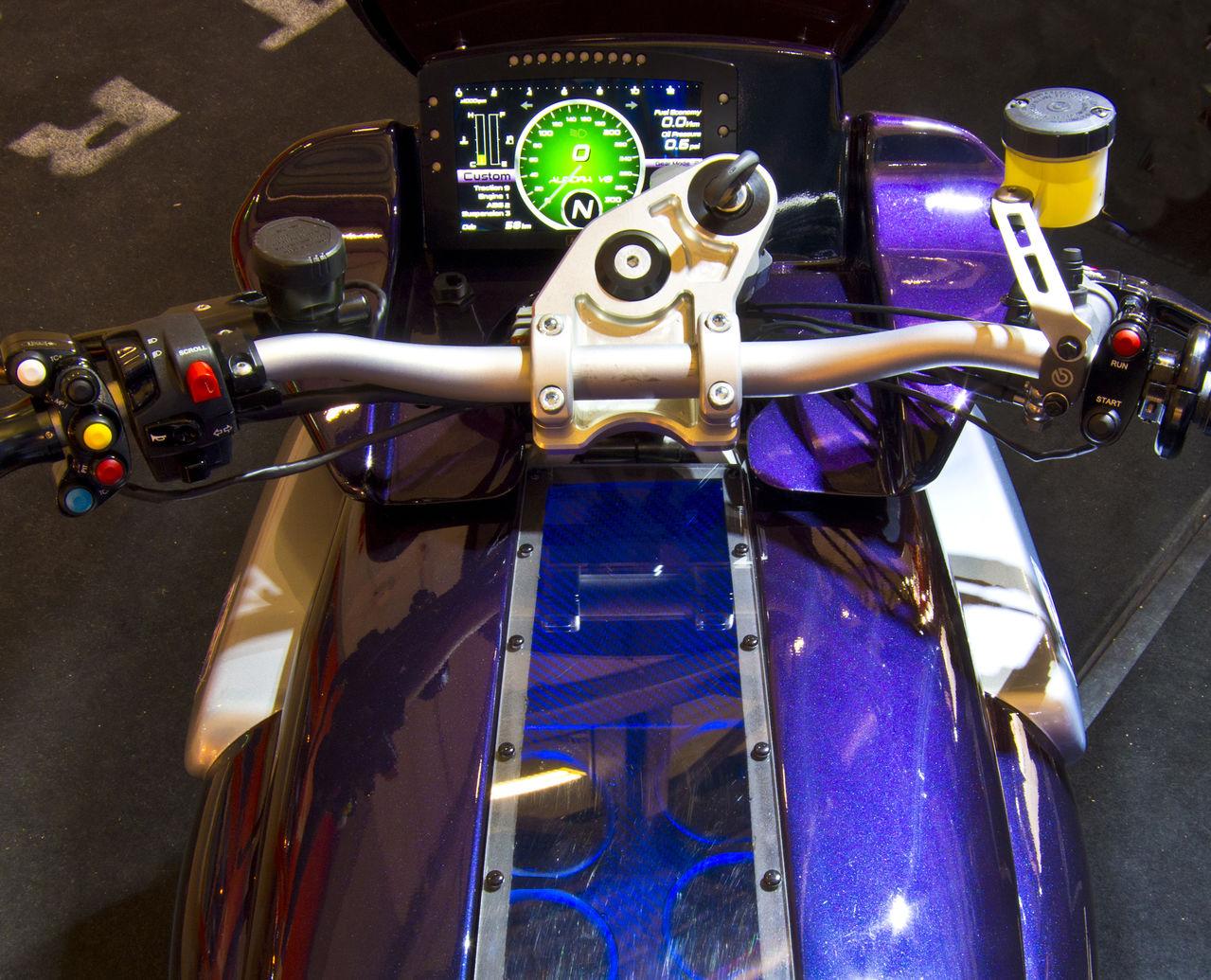 Aurora Hellfire instrument display