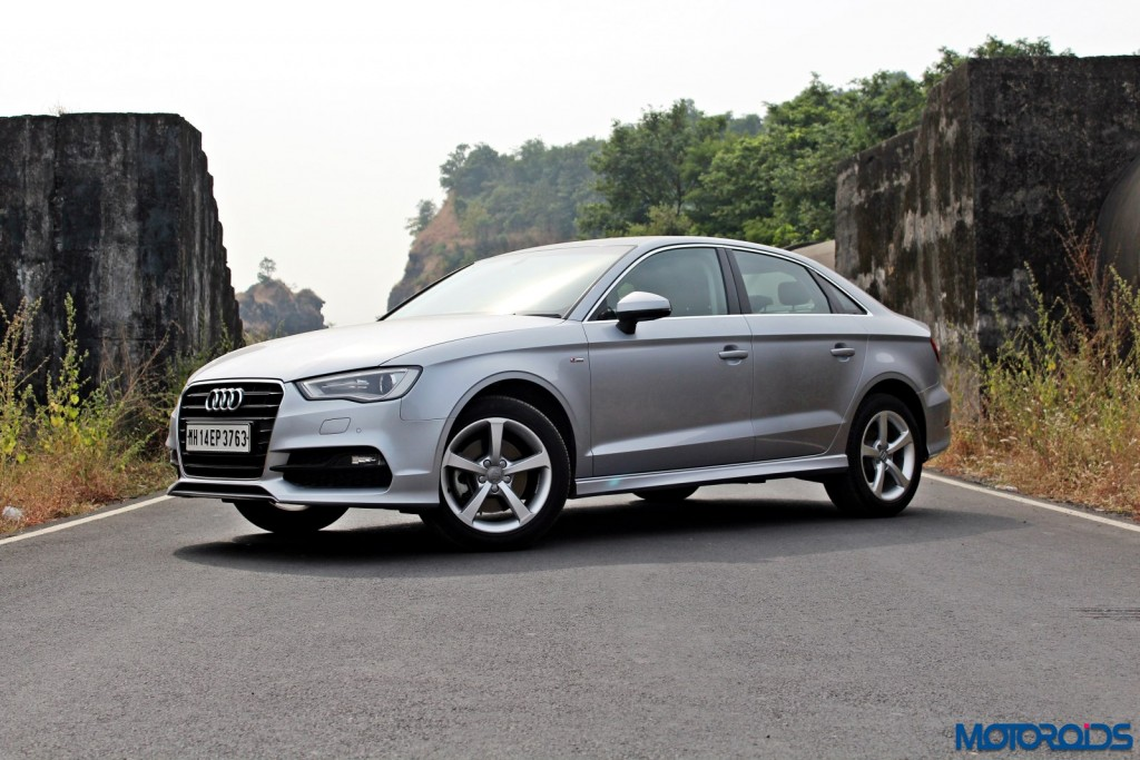 Audi A3 1.8 TFSI petrol front (3)