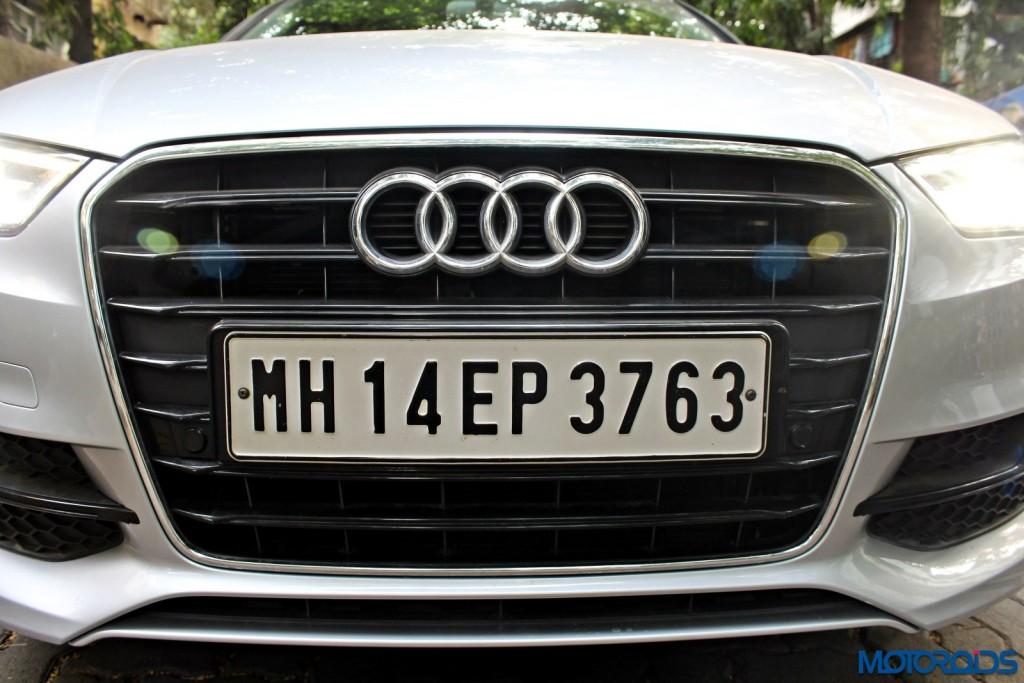 Audi A3 1.8 TFSI petrol grille