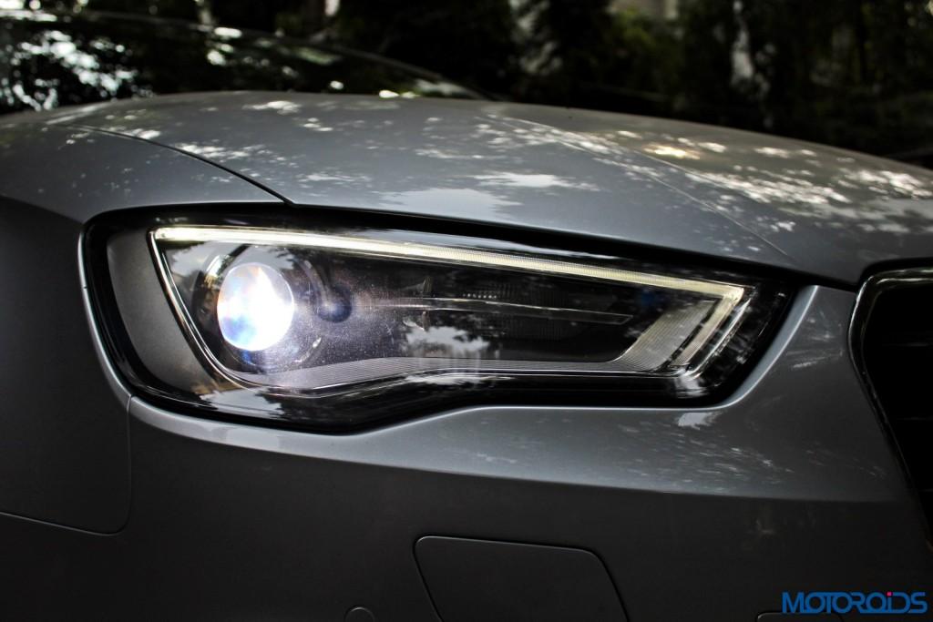 Audi A3 1.8 TFSI petrol headlamp (2)