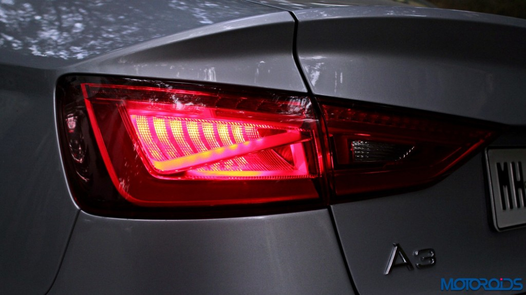 Audi A3 1.8 TFSI petrol tail lamp (1)