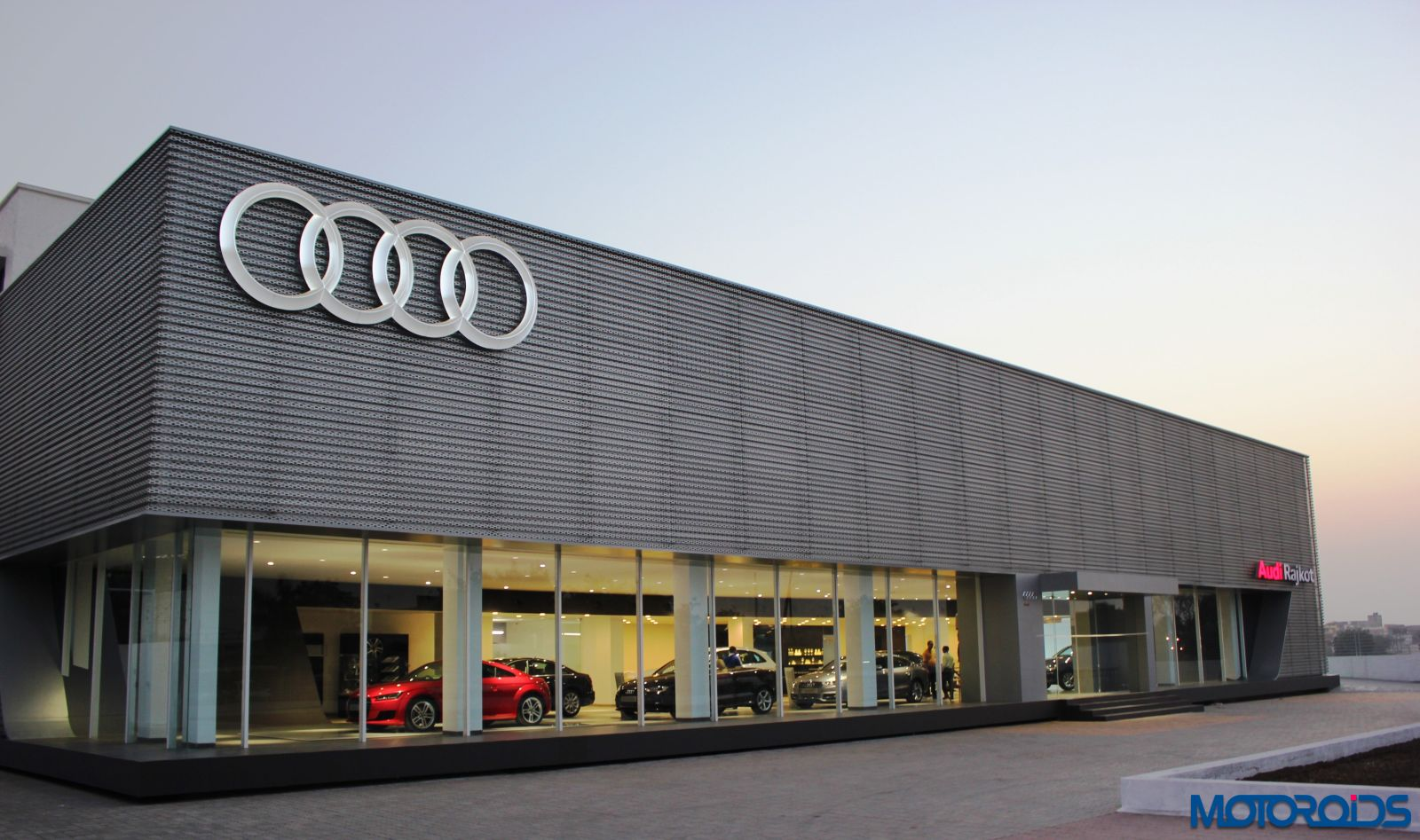 Audi India Inaugurates Its New Showroom In Rajkot Fourth