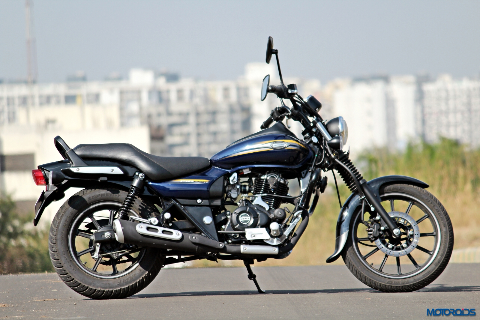 Is This The New Commuter From Bajaj Spotted During A Road