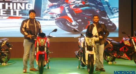 Benelli TNT 25 India Launch (11)