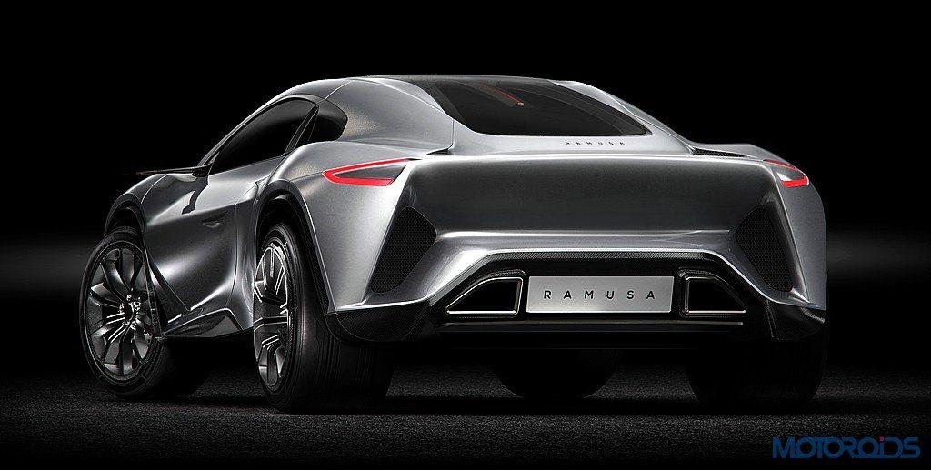 Bugatti Powered Camal Ramusa Concept Is The World S First