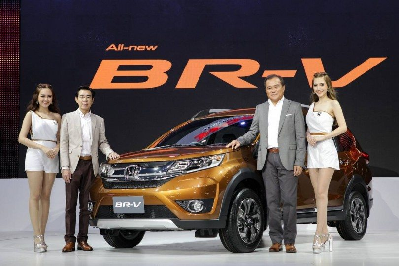 Honda BR-V Launched in Indonesia