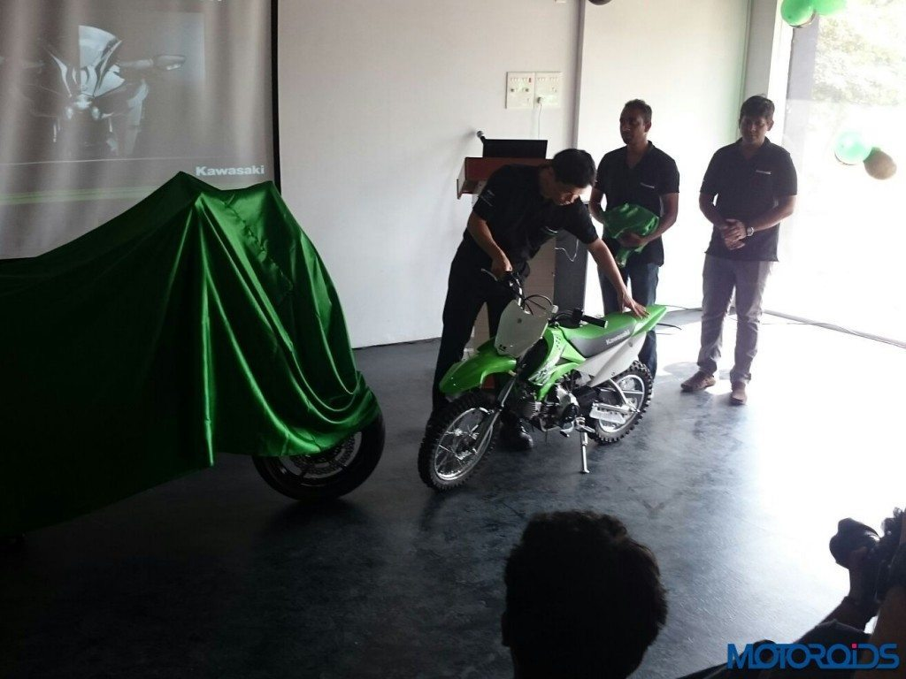 Kawasaki KLX110 India Launch - 2