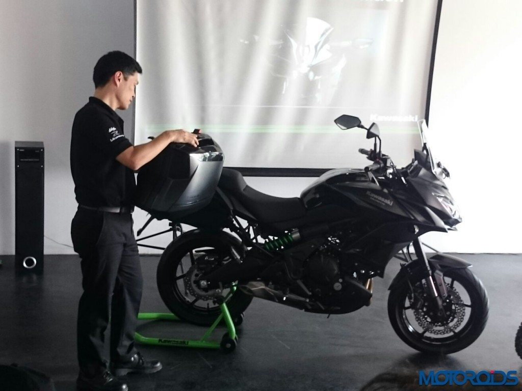 Kawasaki Versys 650 India Launch - 2