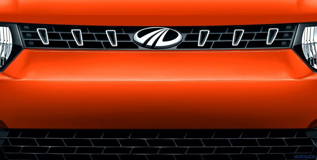 Mahindra KUV100 Front Grille